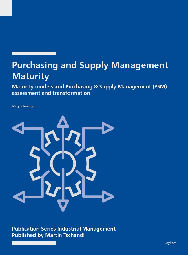 Buchcover Purchasing and Supply Management Maturity