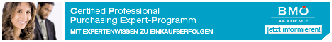 Banner Certified Professional Purchasing Expert Programm CPPE